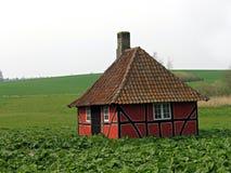 Maison médiévale de type de vieilles légendes de contes de fées Photo libre de droits