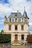 Maison mignonne en Suisse Photos libres de droits