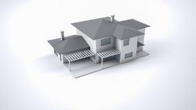 Maison modèle illustration stock