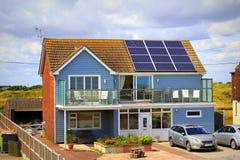 Maison moderne Kent England de bord de la mer photographie stock