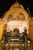Maison municipale à Prague Photographie stock libre de droits