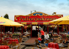 Maison néerlandaise de crêpe photos stock