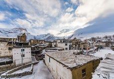 Maison népalaise sur le chemin au camp de base d'Everest Photo stock