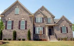 Maison neuve à vendre Image stock
