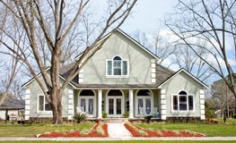Maison neuve construction2 Photo libre de droits