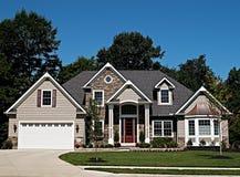 Maison neuve de l'Ohio Image stock