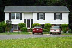 Maison neuve de rêve américain Photos stock