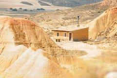 Maison no.1 de désert Image libre de droits