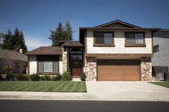 Maison nordique de la Californie Subruban Image stock