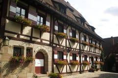 maison Nuremberg vieux Photo libre de droits