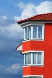 Maison orange Photo libre de droits
