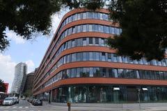 Maison orange ovale image stock