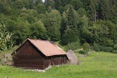 Maison pastorale dans la vallée Photos libres de droits