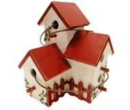Maison peinte à la main d'oiseau Images libres de droits