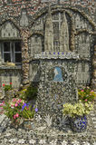 Maison Picassiette, an old earthenware mosaic in Chartres Stock Photo