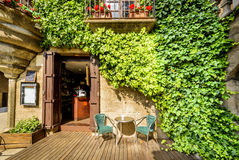 Maison pittoresque dans Catalunya Photo stock