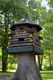 Maison pour l'écureuil Photographie stock