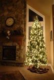 Maison pour Noël Photos stock