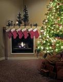Maison pour Noël Image libre de droits