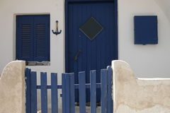 Maison privée simple Photographie stock