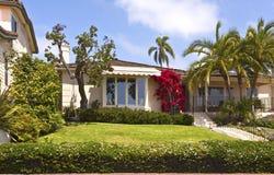Maison résidentielle au point Loma California. Images stock