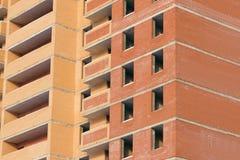 maison résidentielle de brique de Multi-appartement Image libre de droits