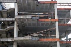 Maison résidentielle en construction de construction Photos stock