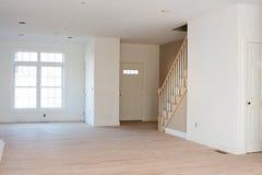Maison résidentielle non finie Photographie stock