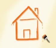 Maison rêveuse Image libre de droits