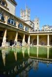 Maison romaine de bains Photo libre de droits