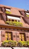Maison rose Photo libre de droits