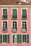 Maison rose Image libre de droits