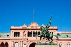 Maison rose, Buenos Aires. Photos libres de droits