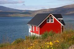 Maison rouge Photo libre de droits