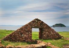 Maison ruinée Photo libre de droits
