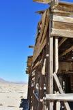 Maison ruinée dans le désert Image libre de droits