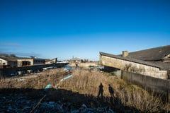 Maison ruinée de grange Photos libres de droits
