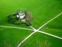 Maison rurale image libre de droits