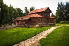 Maison russe traditionnelle Photo libre de droits
