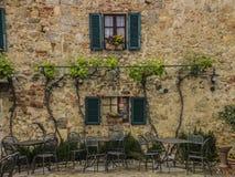 Maison rustique de la Toscane Photographie stock