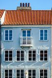 Maison scandinave à Copenhague, région de Nyhavn photo stock