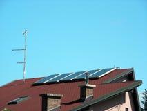Maison solaire Images stock
