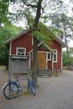 Maison suédoise traditionnelle photo libre de droits