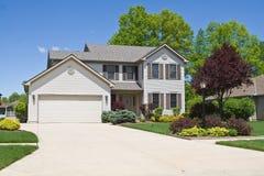 Maison suburbaine Images stock