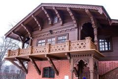 Maison suisse dans Kuskovo Moscou photo stock
