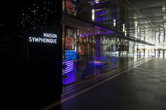 Maison Symphonique信息 免版税库存照片