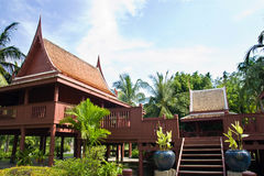 Maison thaïe Images libres de droits