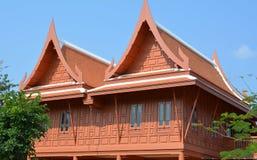 Maison thaïe Photographie stock libre de droits