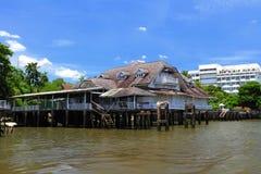 Maison thaïe antique Images libres de droits