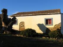 Maison traditionnelle Photo libre de droits